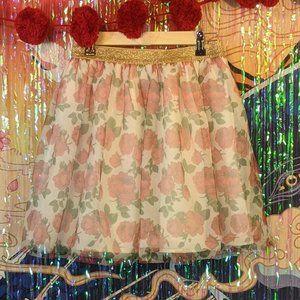 Disney Girl's Tulle Skirt - Size XL 14/16